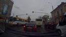 Пенза 17-09-18 15-50 зареченский автобус на красный, а потом пешеходам не уступает