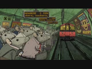 Happiness Animated Short Film by Steve Cutts