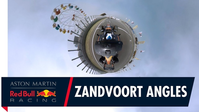 Zandvoort from every angle with Max Verstappen Daniel Ricciardo and David Coulthard
