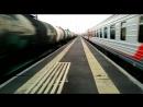 на ж д станции Жихарево между 2 поездами