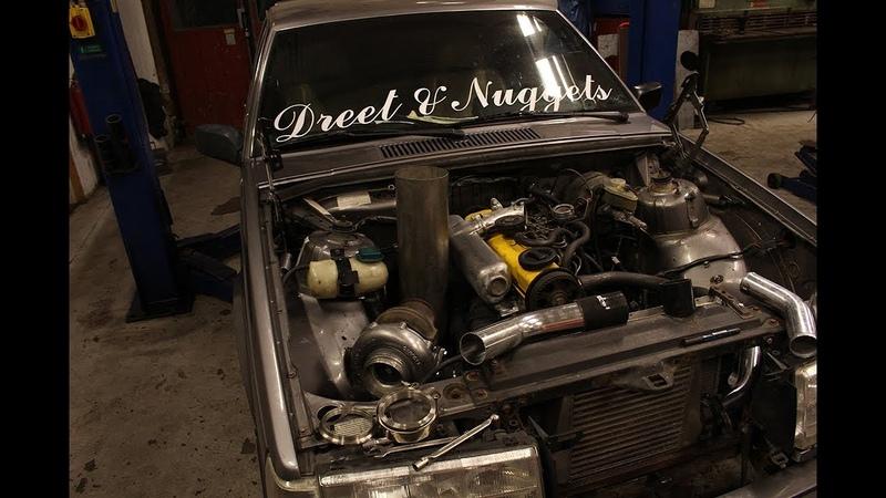 Värsting D24 TIC Volvo 740 || För stor turbo?