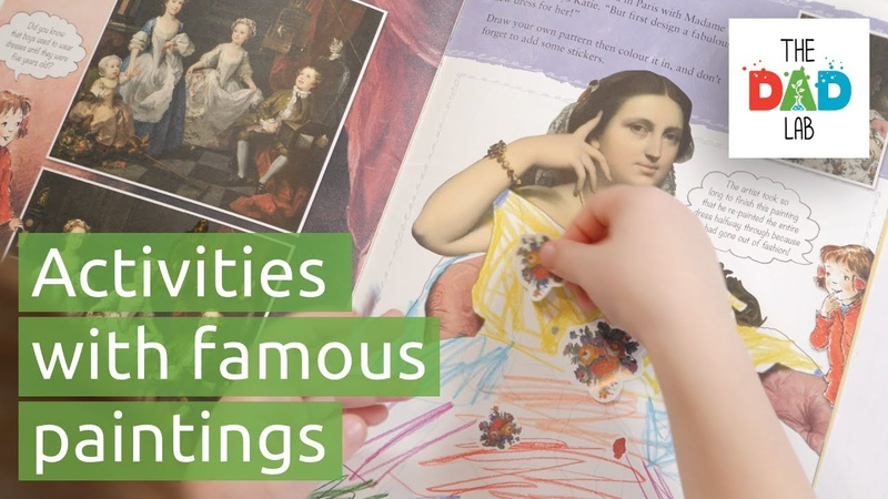 Discover Art with Katie: A National Gallery - Children's Book Review