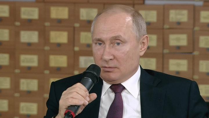 Вести.Ru: Путин: Крымская весна показала, что Россия умеет себя любить