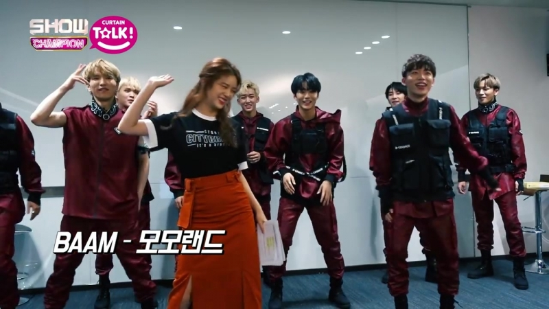 [쇼챔피언 커튼톡] 실력파 신인그룹 디크런치의 BTS, 블랙핑크, 모모랜드 커버댄스 [ENG SUB]