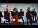 쇼챔피언 커튼톡 실력파 신인그룹 디크런치의 BTS 블랙핑크 모모랜드 커버댄스 ENG SUB