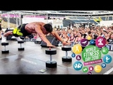 WORLD FITNESS DAY 2018 Farid Berlin Olimp Sport Nutrition