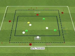 Футбольные упражнения на удержание и завершение атаки, а также на ловкость и координацию