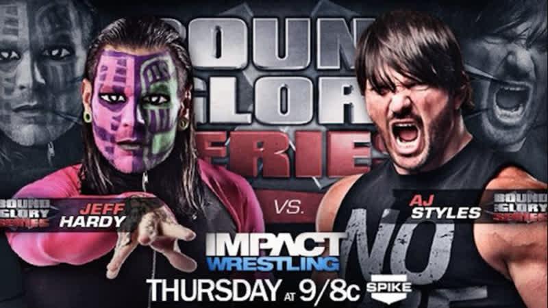 Wrestling Online - Jeff Hardy vs AJ Styles TNA (Стрим 50)
