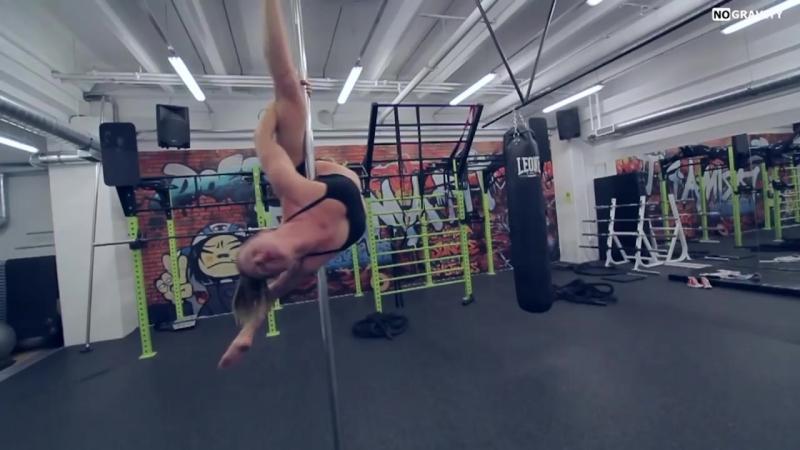 Amazing Pole dance Skills directed by Rok Kadoic