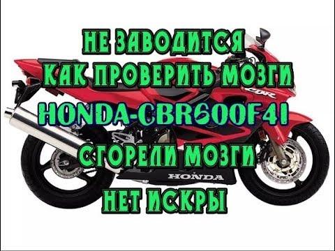 Не заводится Honda CBR600F4i, как проверить мозги с hiss на другом мотоцикле.