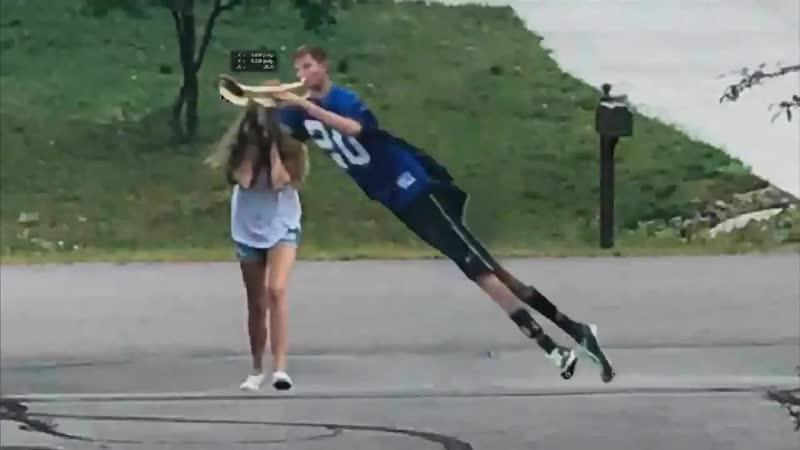 NFL Trumpet Boy