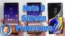 Note 9 Screen Protector Comparison | ZAGG, ZIZO Dome Glass