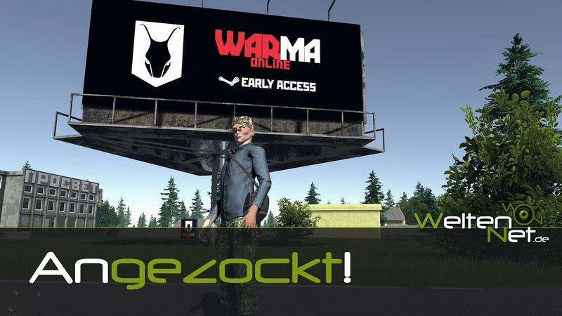 Warma Online Gameplay ANGEZOCKT❗ - 2018 HD german/deutsch