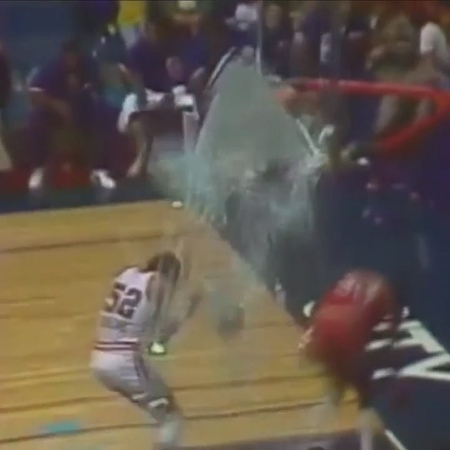 """NBA on ESPN on Instagram: """"39 years ago Tuesday, Darryl Dawkins shattered his first backboard, introducing the NBA to Chocolate Thunder."""""""
