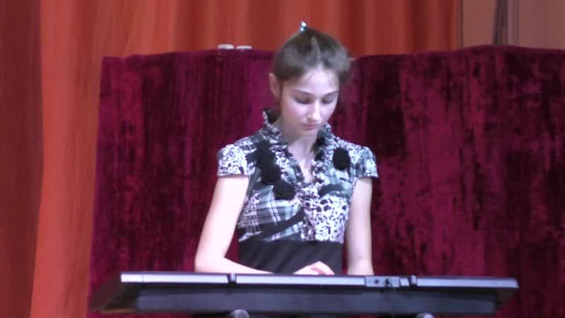 2018-10-28 Концерт. Синтезатор - Алина Говорова