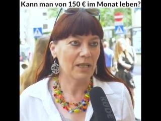 Kann man von 150 Euro im Monat leben?