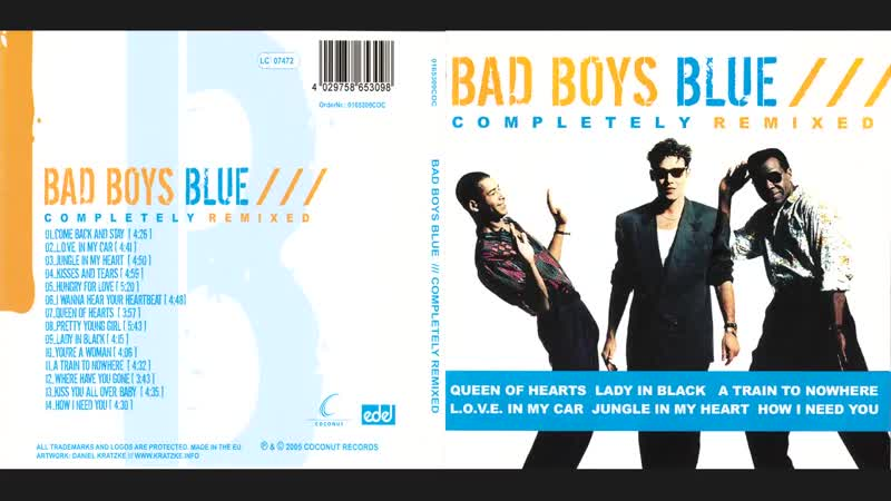 [2005 Album] Bad Boys Blue - Completely Remixed