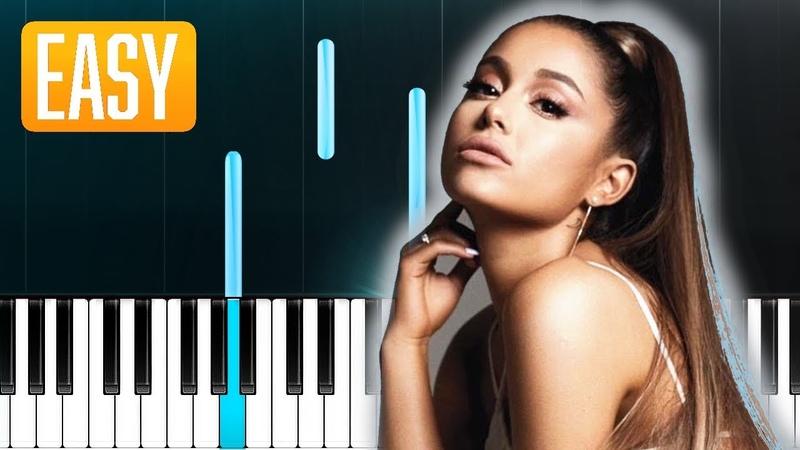 Ariana Grande - 7 rings (100% EASY PIANO TUTORIAL
