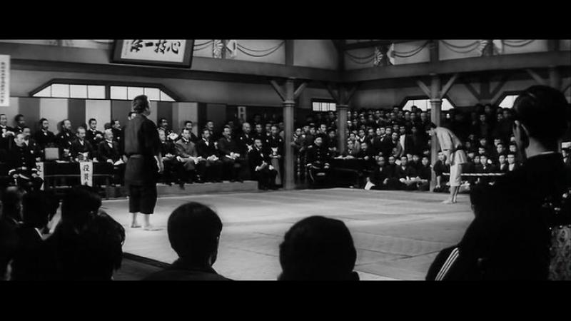 Фильм - Гений дзюдо (Sugata Sanshiro) 1965 год
