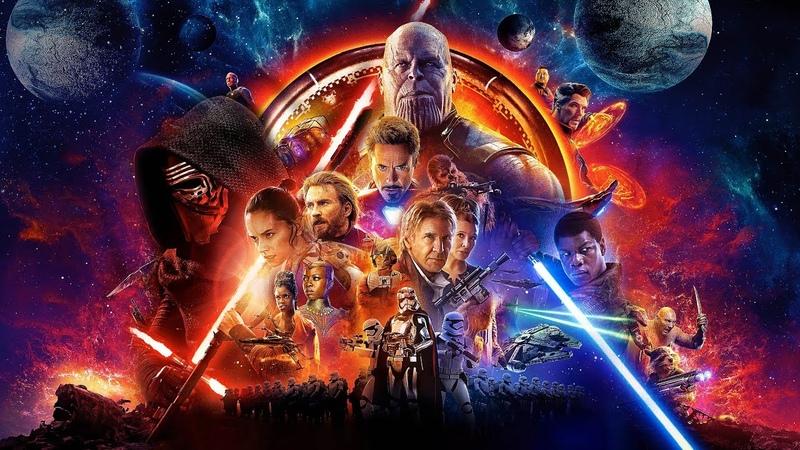 Avengers Star Wars | Main Theme Mashup