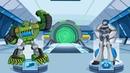 Мультик игра для детей Новые Приключения Спасателей Трансформеры Боты спешат на помощь