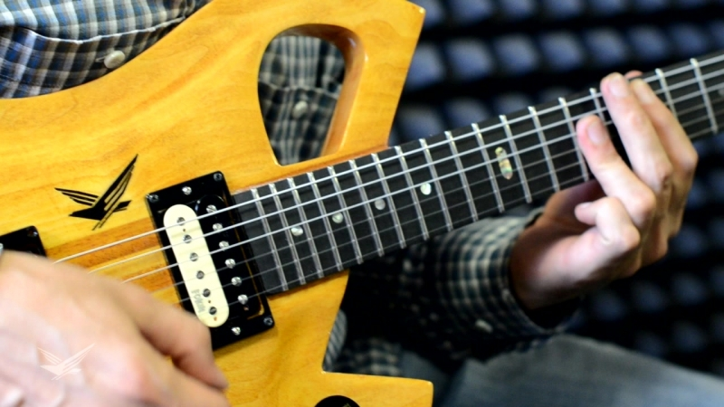 Гитара мастеровая Ольшанецкого Михаила