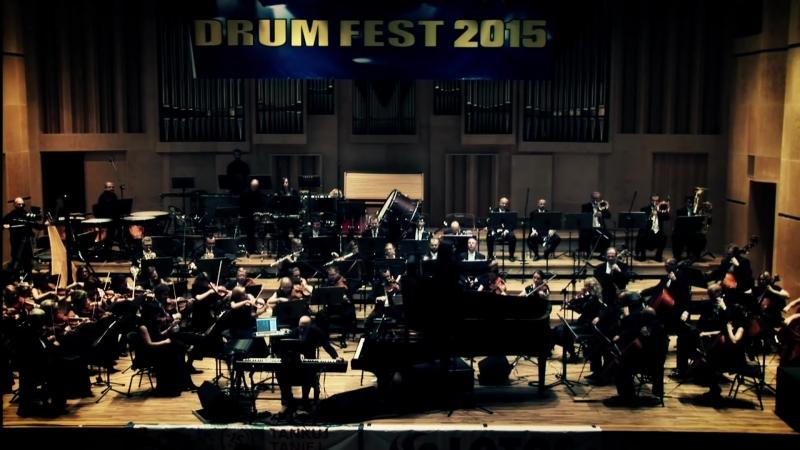 JORDAN RUDESS _Orkiestra Symfoniczna Filharmonii Opolskiej - 24 DRUM FEST 2015