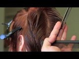 TUTORIAL HAIRCUT - Graduated layers with strong fringe Follow my instagram @joeltorresstyle