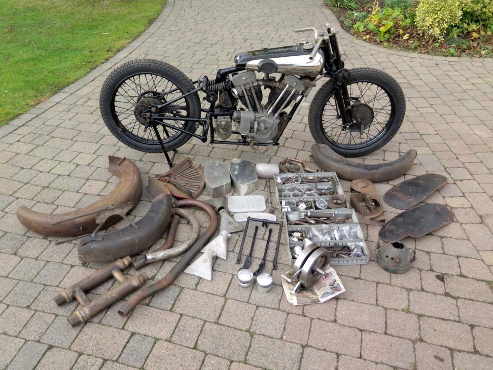 Самый дорогой мотоцикл Brough Superior