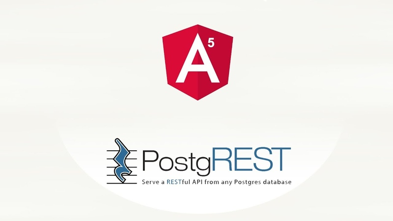 Взаимодействие Angular PostgREST