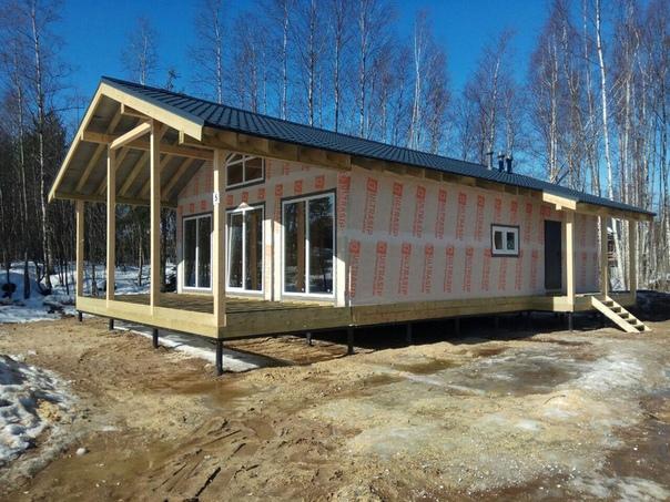 Закончен монтаж теплого контура дома со вторым светом #ультрасип_васильевка 👌🏻