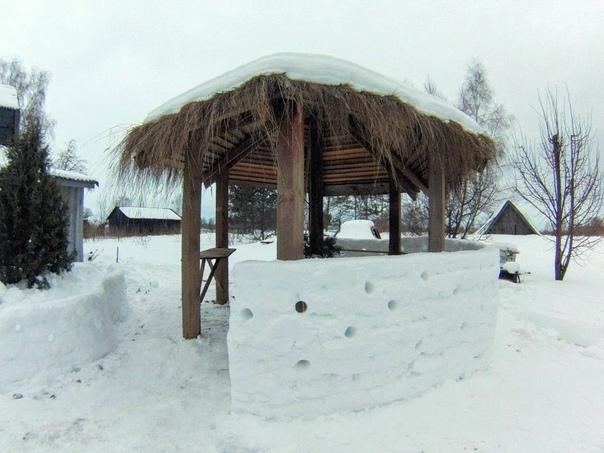daria pligina скоро зима, а это значит, что появится много строй материала☺ а когда вы последний раз строили снежную