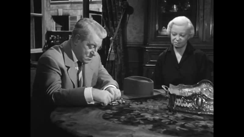 «Мегрэ расставляет сети» (1958) - драма, криминальный, реж. Жан Деланнуа