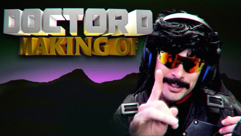 The Making Of VHS Glitchs Doctor D | Step by Step