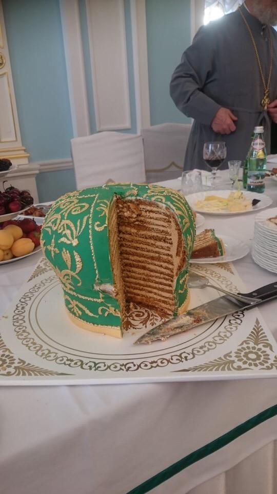 Таких тортов вы еще не видели!? Вкусно, Святейшему, спасибо, праздник, господа