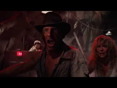 Mine Cart Chase Indiana Jones and the Temple of Doom 1984 Movie Clip HD