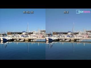 Камера Xiaomi Mi 8 Vs Mi Mix 2S