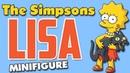 Лиза Симпсон Минифигурка Лего Обзор минифигурки Лизы Симпсон из Лего Lego Minifigure Lisa Simpsons