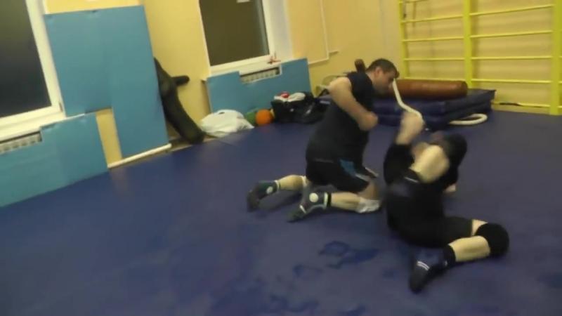 Бросковая тренировка. Обезоруживание