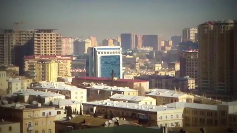 23.01.13. Баку. 3 Хребтовая, 11 этаж. Панорама.