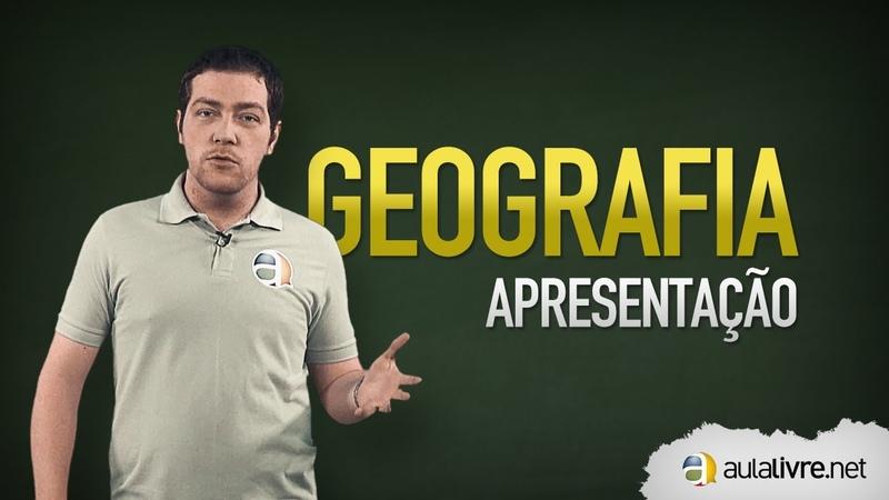 Geografia - Apresentação do Prof. Giordano Bombardelli