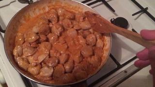 [Экскрепериментальная кухня]02. Пельмени с фасолью в томатно-майонезном соусе!