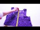 Топ фиолетовый