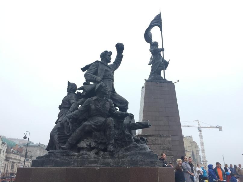 Отчет за 30.06.2018 Памятник войнам-защитникам Советской власти