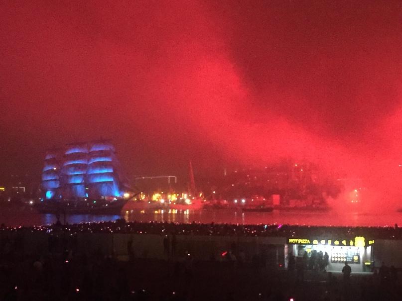 Отчет за 30.06.2018 Парусник и салют в тумане