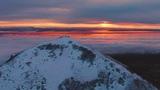 Закат на вершине горы Бештау - DJI Mavic 2 Zoom 4k Cinematic Footage