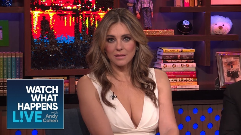 Elizabeth Hurley And Hugh Grant Are Still Close | WWHL