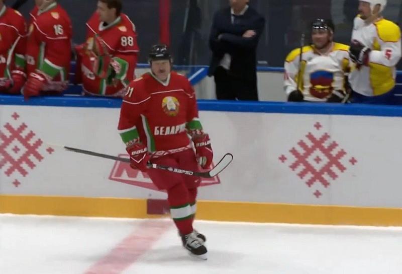 Со счетом 9:4 завершилась встреча между командой Президента Беларуси и сборной Брестской области