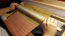 Weaving 2/1 twill on Rigid Heddle Loom