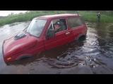 Утопили НИВУ ,Брод Вода в Шноркелье! off road, Нива Может!
